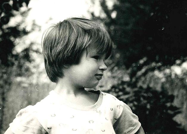 Maria as a Child